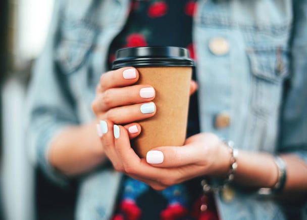 コーヒーの試飲をしながらお買い物ができる!