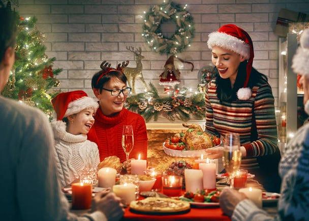 自国のクリスマスはどんな風に過ごしているの?