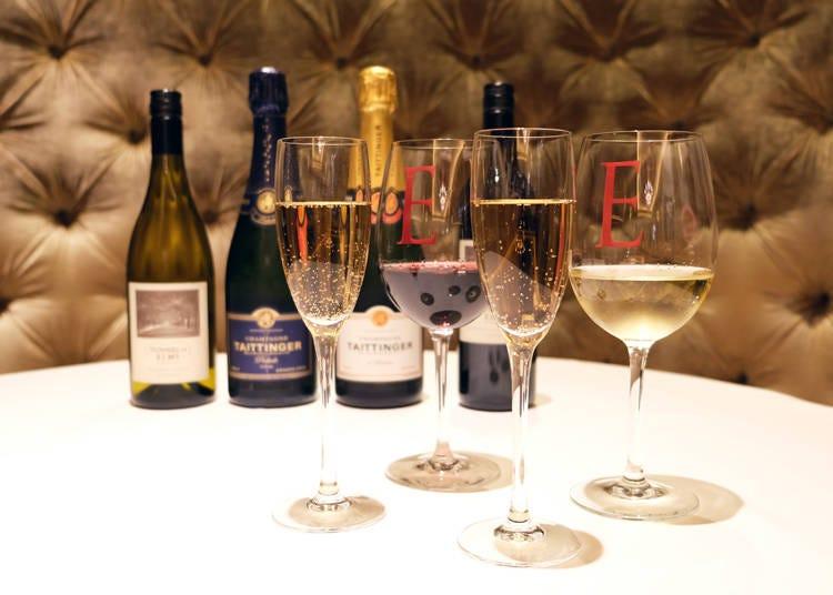 ペアリングも楽しい!250種1000本以上のワイン