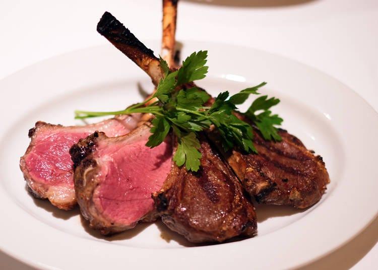 一生に一度は食したい「究極のラムステーキ」のお味はいかに!?