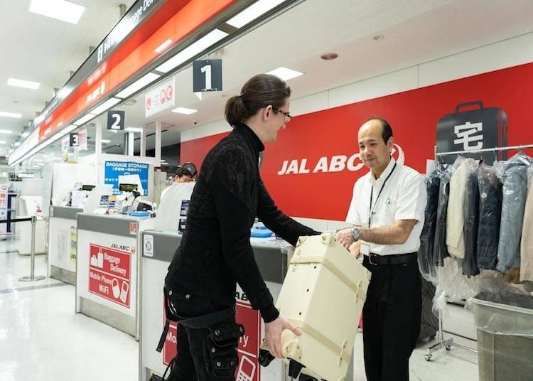 空港サービス活用術–その2 荷物を持たずに旅を楽しもう