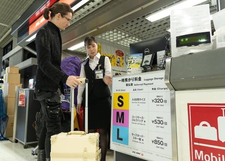 매력적인 공항 서비스 3: 짐과 이별한 뒤 공항에서 홀가분한 휴식 시간