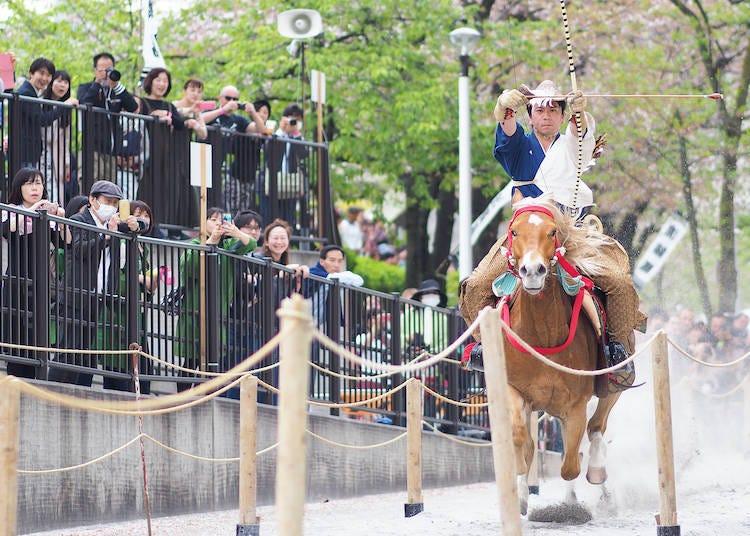 お花見+αでお祭りへ!春におすすめの祭り「浅草流鏑馬」へ