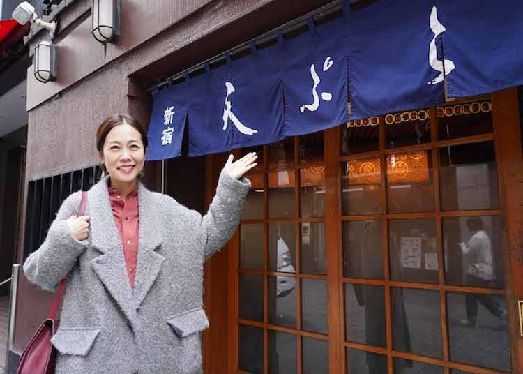 OLD Shinjuku, Spot 2: Tempura Shinjuku Tsunahachi—A long-established restaurant that prides itself on using fresh ingredients