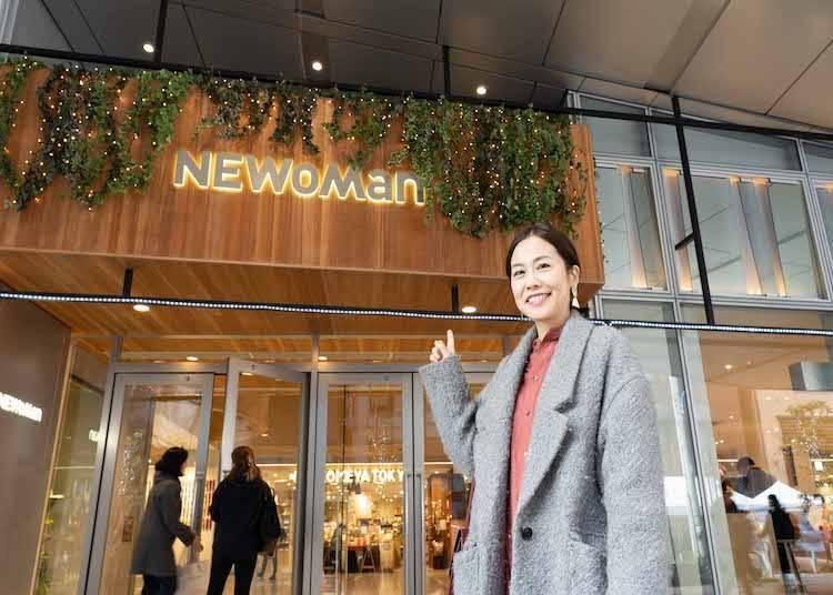 신주쿠신미나미 지역에 있는 화제의 쇼핑몰! 뉴 신주쿠 스폿2: 도시 여성의 오아시스, NEWoMan 신주쿠