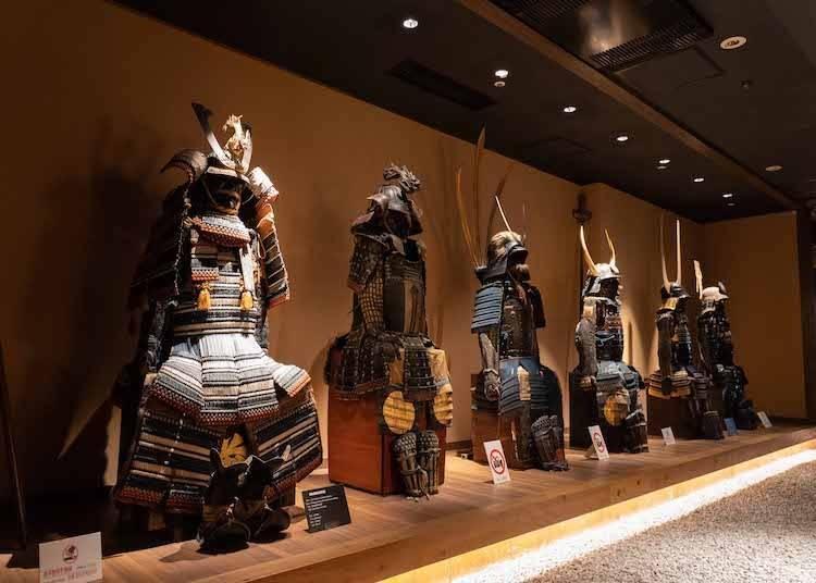 不說不知道!原來新宿還有這樣的地方! 景點三:武士博物館