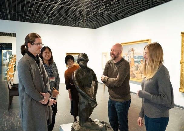 近代美術を身近に感じよう! MOMATで「Let's Talk Art!」体験レポート