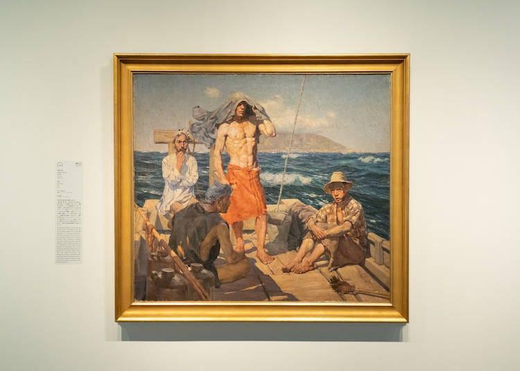 와다 산조, 남쪽 바람, 1907년(중요문화재)