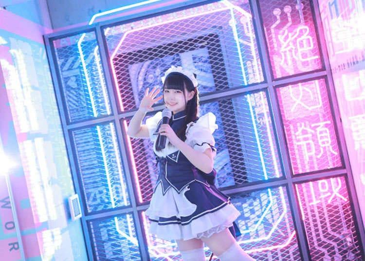 New cyberpunk maid cafe opens in Akihabara, Tokyo