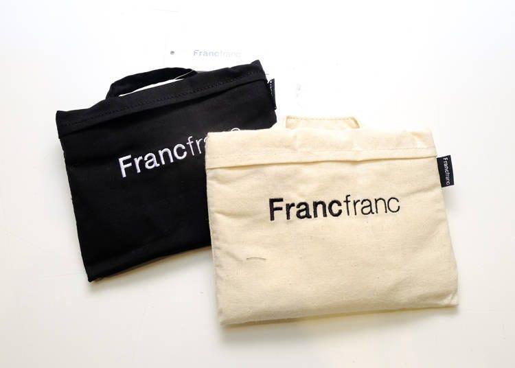 東京Francfranc推薦雜貨2. 實用系伴手禮就選它「ERUN Eco Bag」
