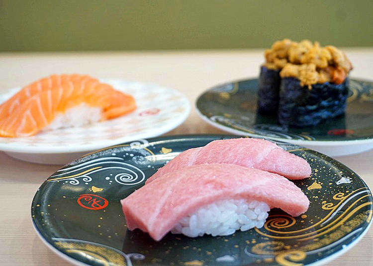 Get the best out of your Odaiba visit with our recommendations for sushi, burgers, and tempura!