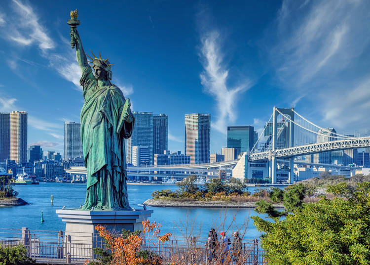 4. There is even a Statue of Liberty in Japan!