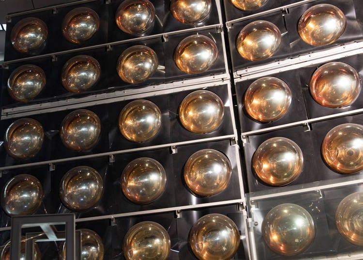適合親子同樂的台場景點④獲得諾貝爾物理學獎的觀測裝置