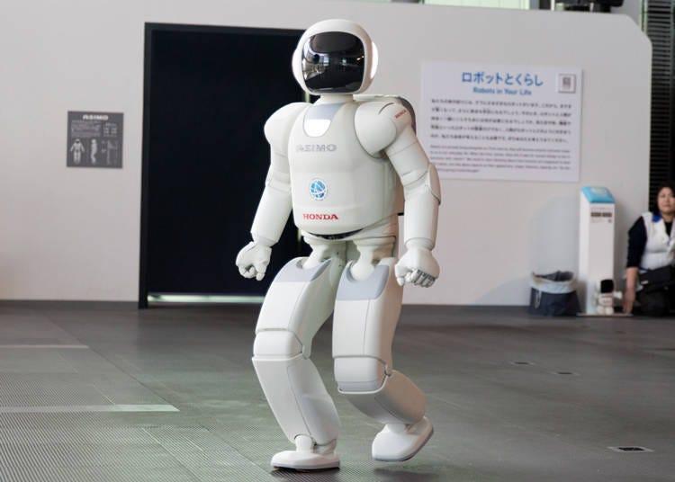適合親子同樂的台場景點⑥人形機器人ASIMO的實際表演