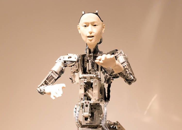 適合親子同樂的台場景點⑦體驗世界最先端的仿生機器人