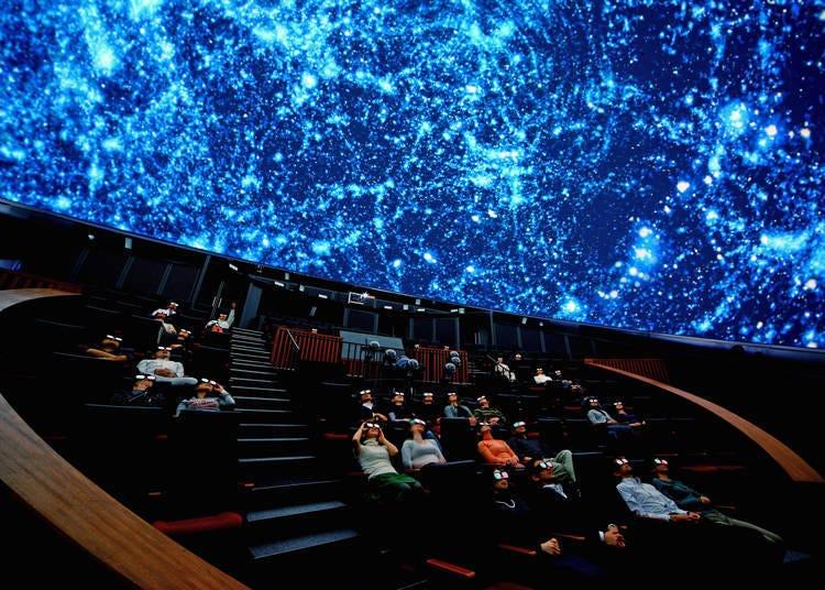 適合親子同樂的台場景點⑨能欣賞立體影像的球型劇場