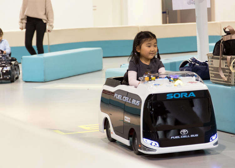 Odaiba's Mega Web: Fun-Filled, Family-Friendly Automotive Theme Park with Free Entry for All!