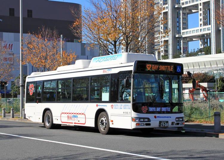 免費玩台場靠東京Bay Shuttle就對了!