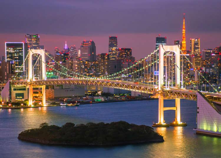 羽田空港からお台場にはどう行くのが便利?  東京の主要駅や羽田/成田空港からお台場へのアクセス情報まとめ