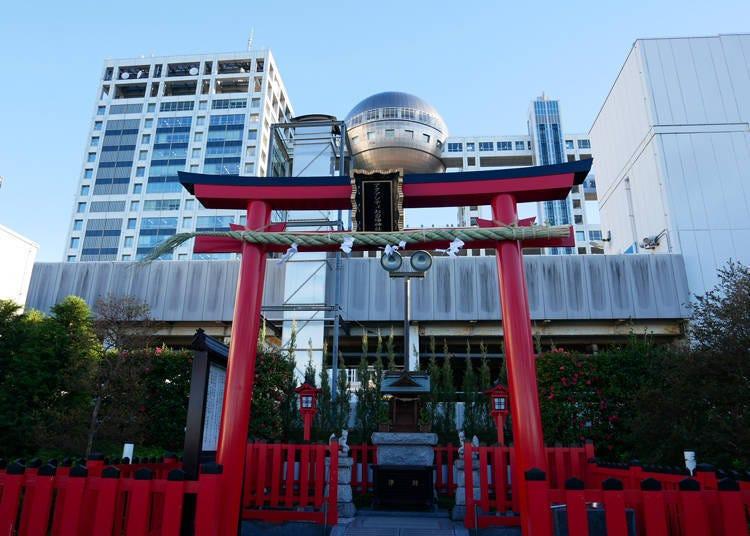 7F:「AQUA CiTY台场神社」