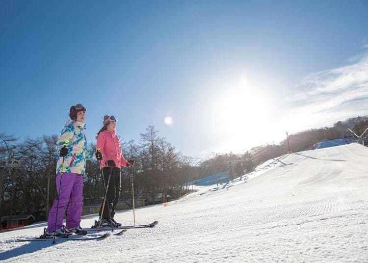 近东京的度假好去处!到「轻井泽王子大饭店」来场2天1夜的冬季滑雪之旅吧