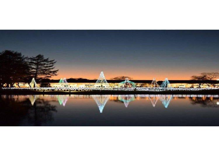 「輕井澤王子大飯店滑雪場」附近也能盡情享受購物樂趣