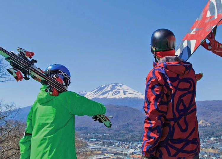 「輕井澤王子大飯店滑雪場」交通資訊