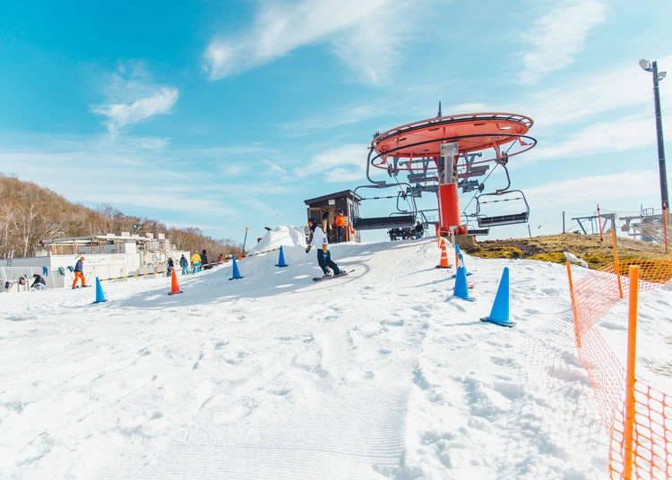 1) When does ski season start in the areas around Tokyo?