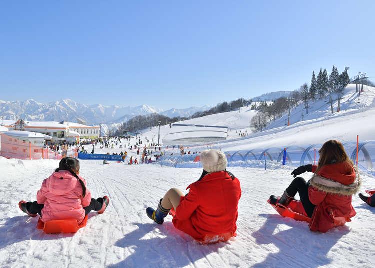 雪遊びスポットが充実した関東のスキー場3選! スキーやスノボに自信がなくても楽しめる