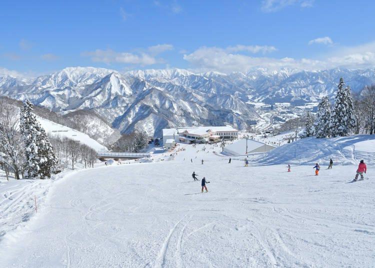 1. GALA Yuzawa Ski Resort (Niigata)