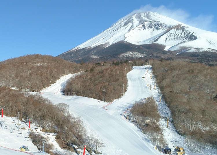 Family-Friendly Fujiyama Snow Resort Yeti: First Ski Resort to Open in Japan Every Ski Season!