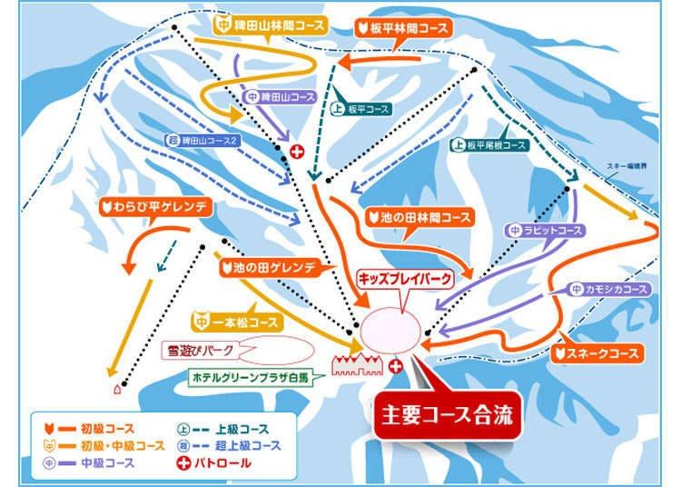 Hakuba Cortina Snow Resort Has 16 Enjoyable Slopes For All Abilities!