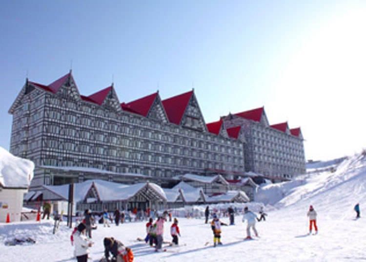 家族旅行、情侣出游等,各种族群都能大大满足的「白马Cortina滑雪场」
