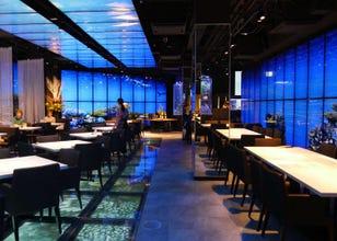築地の日本料理店「魚月」はまるで竜宮城…! 日本昔ばなしが料理とプロジェクションマッピングで楽しめる