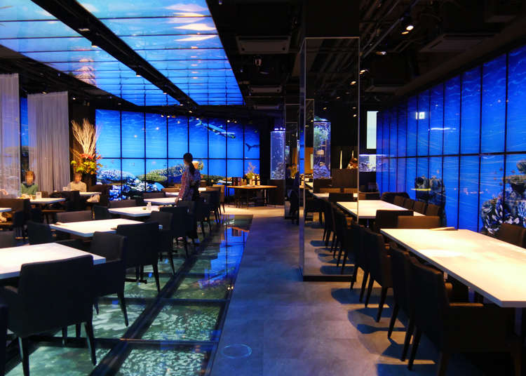 Enjoy ancient Japanese tales with great food and incredible projection mapping!