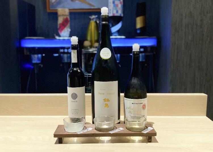 個性的な佐賀県の日本酒を飲み比べ!