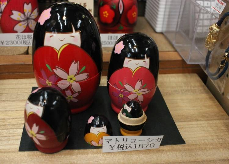 Kokeshi Dolls: Hand crafted traditional souvenirs