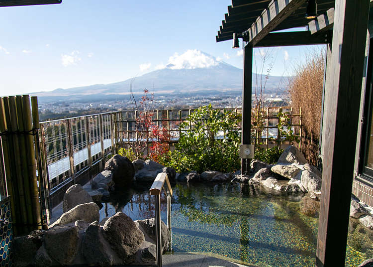 Hotel Clad: Gorgeous Hotel with a View of Mt. Fuji!