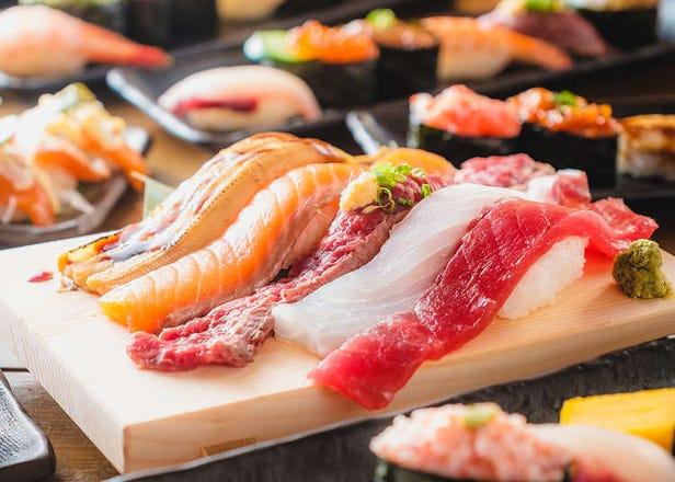 お寿司や蟹が今だけ食べ放題! 行かないともったいない、冬限定コースがあるお店3選