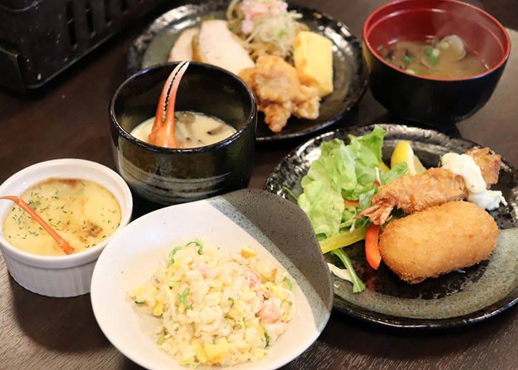 「螃蟹處 GOZZO」不只有螃蟹!各式現做料理自助吧絕對滿足