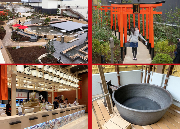 Beautiful onsen complex opens in downtown Osaka, lets you live onsen dream in heart of the city - LIVE JAPAN