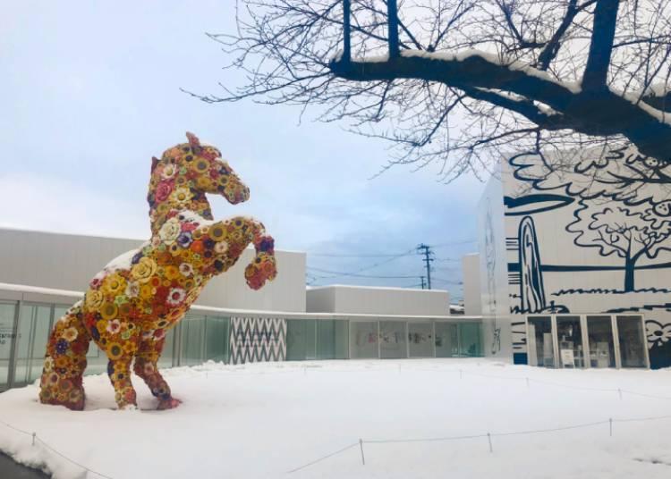 겨울 정취 속에 예술의 발견, 그리고 온천의 여유