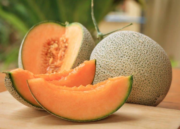 日本旅遊必吃水果④哈密瓜(メロン)