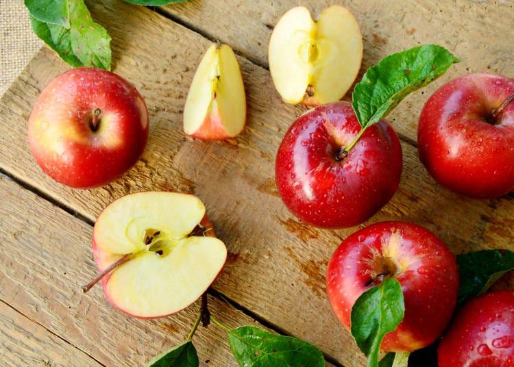 日本旅遊必吃水果⑤蘋果