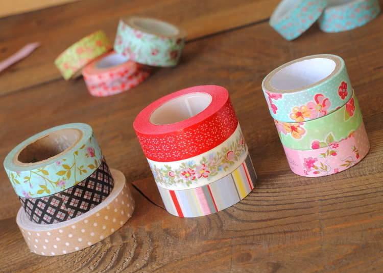 文具編1:「マスキングテープ」は和紙製で世界的に広まった
