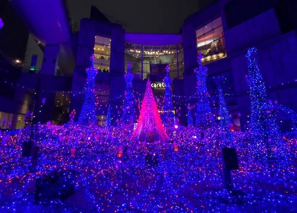 1. ディズニー映画『アラジン』の世界観をイメージした「Caretta Illumination 2019 ~アラビアンナイト~」