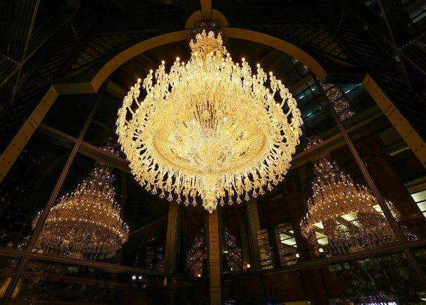 3.  歴史上最大級のバカラシャンデリアの輝きが今年も恵比寿に「Winter Illuminations 2019」