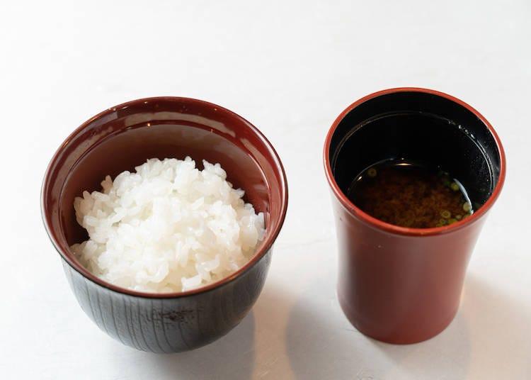Best Combo #4: Kinuhikari & Miso Soup