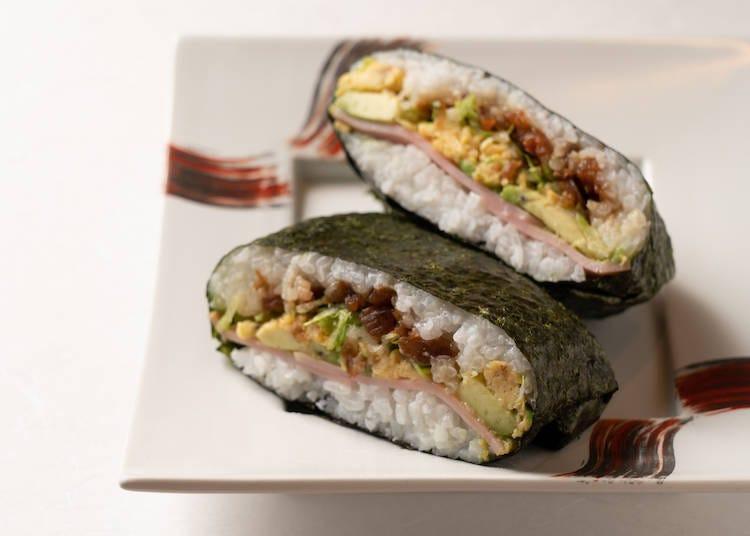 "The ""Onigirazu"" Rice Sandwich: An Instagrammable Superstar"