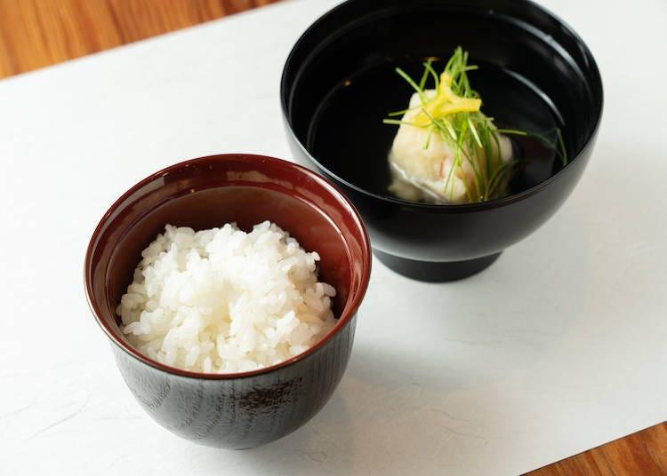 """日本米 x 日本料理的究极美食搭配之二 """"Yumetsukushi米""""x""""海鲜鱼丸汤"""""""